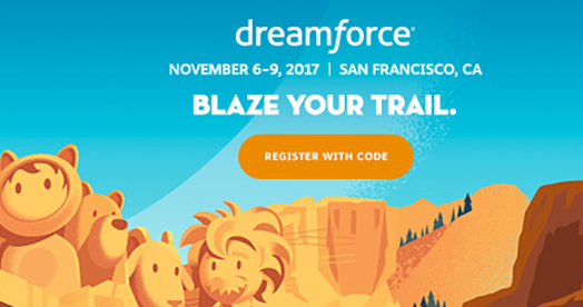 Dreamforce Registration with Code