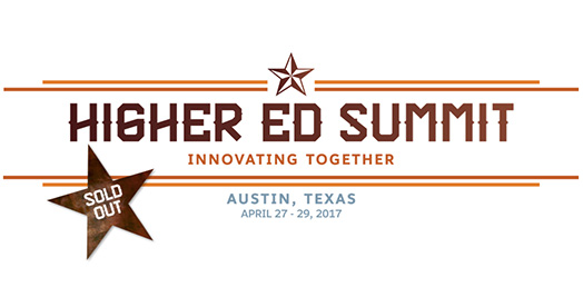 Higher Ed Summit Sold Out