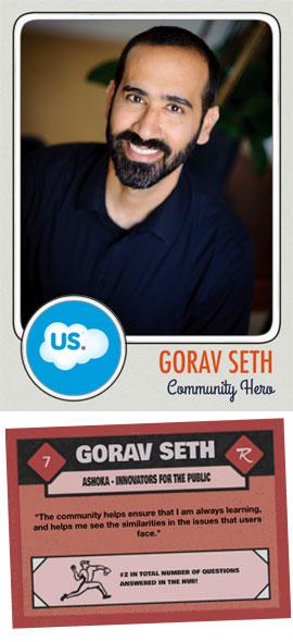 Gorav Seth Community Hero