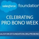 Salesforce Celebrates Pro Bono Week
