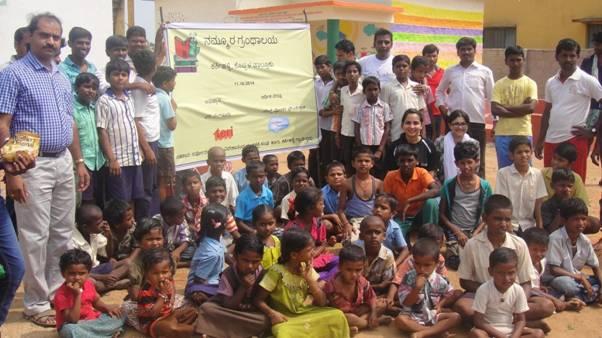 Salesforce volunteering in villages Inida