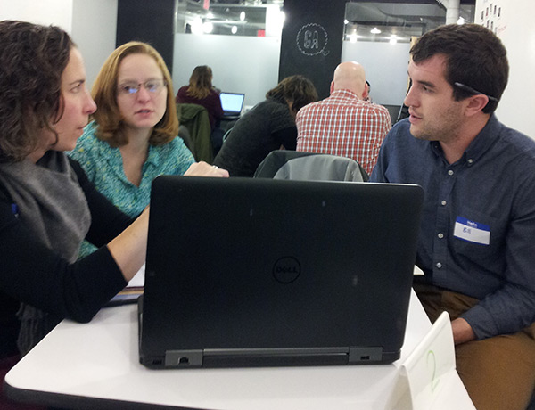 Speedforce: Giving Back at Salesforce #GivingTuesday Event