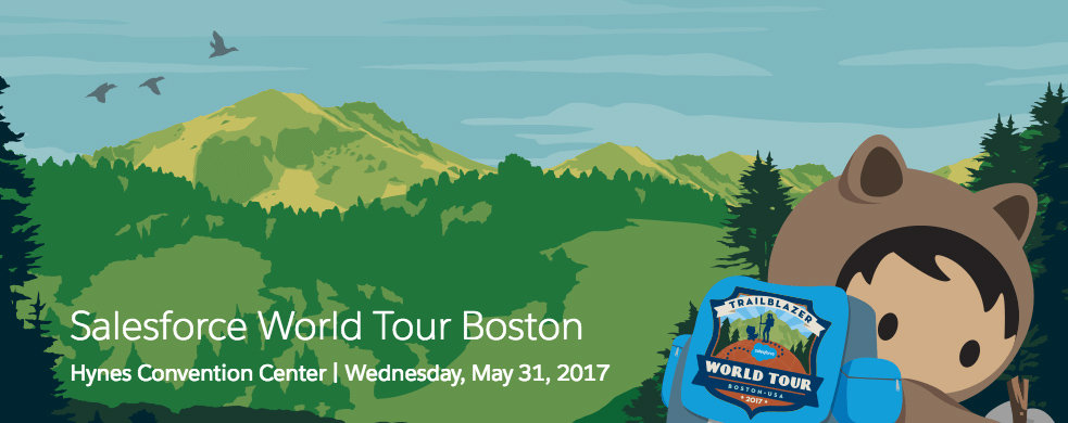 Salesforce World Tour Boston Sessions