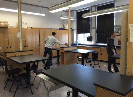 Volunteering in a Science Lab