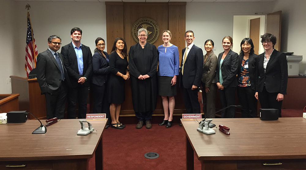 Immigration Juvi Docket with CLSEPA and Judge Alison-Daw