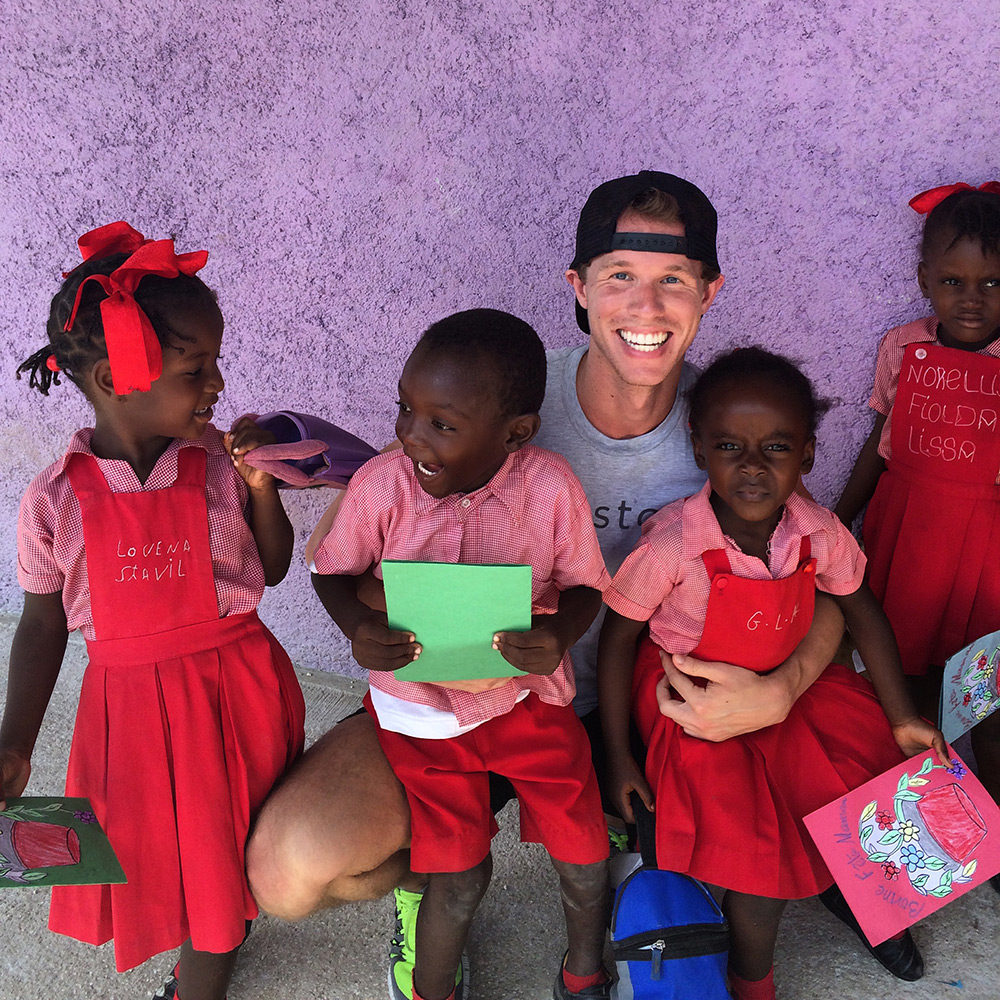 Justin in Haiti
