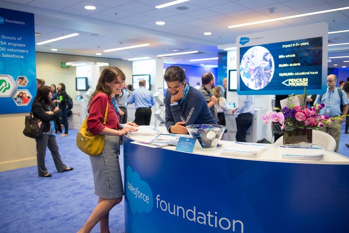 Foundation Zone at Dreamforce