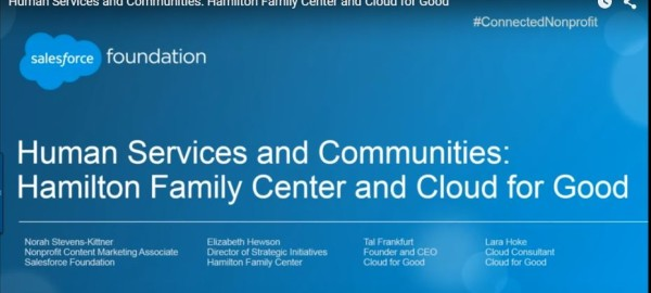 Webinar: Human Services and Communities