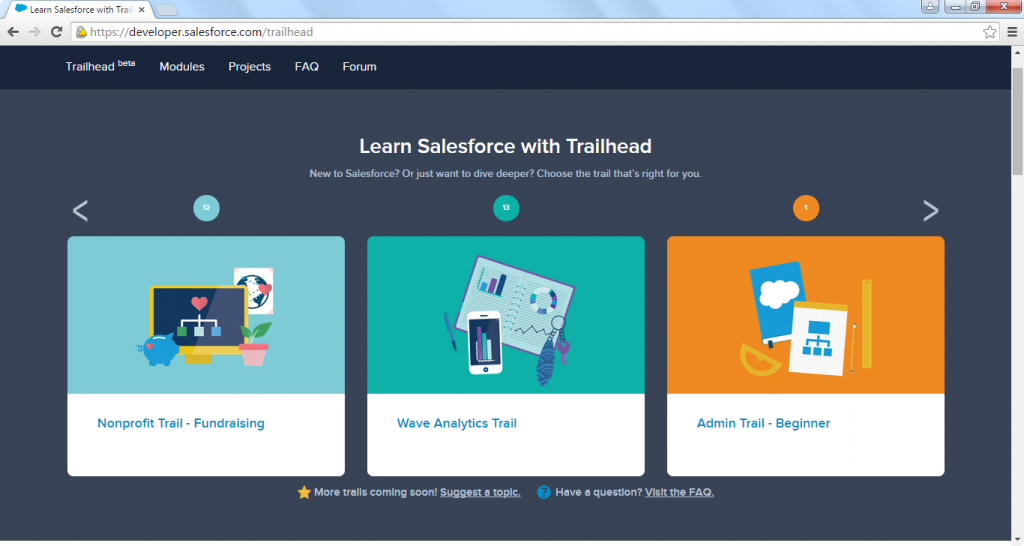Trailhead: Why It's Huge for Developers and Nonprofits
