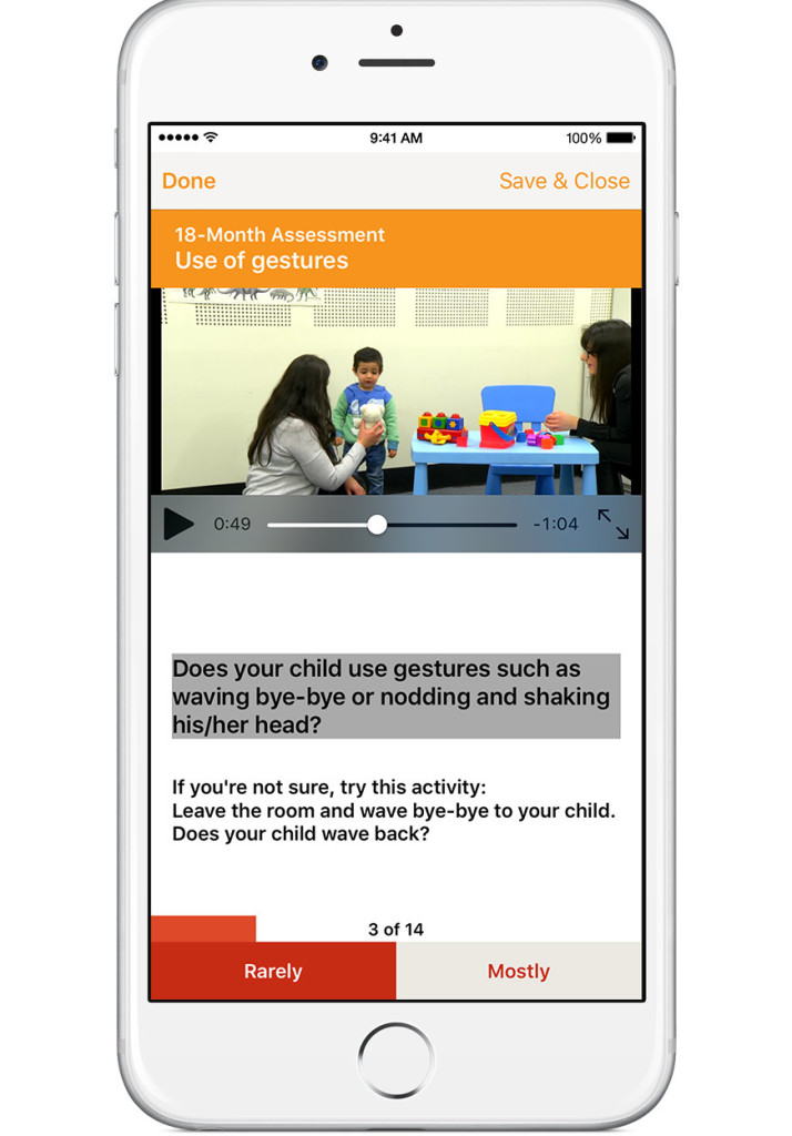 OTARC - autism detection app
