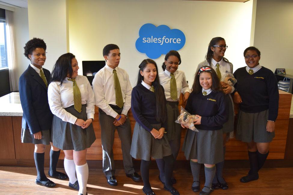 Cristo Rey students
