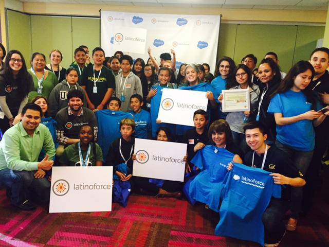 Latinoforce at Salesforce