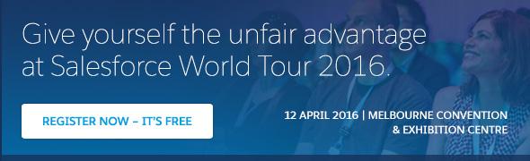 Salesforce World Tour Melboune