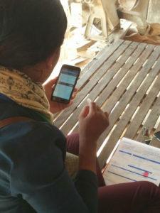 Cambodia Sanitation program mobile