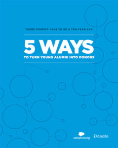 Higher Ed Ebook Turn Young Alumni into Donors