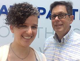 Vered Meir and Steve Backman