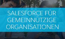 Salesforce für gemeinnützige Organisationen