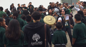 Frick Impact Academy in Oakland