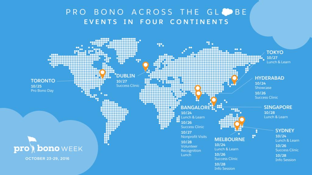 Pro Bono Week Map