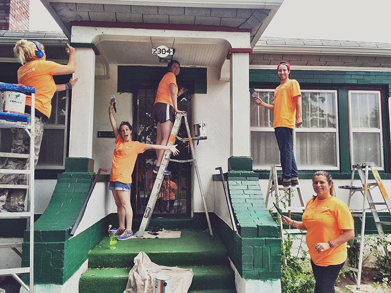 Xactly volunteers