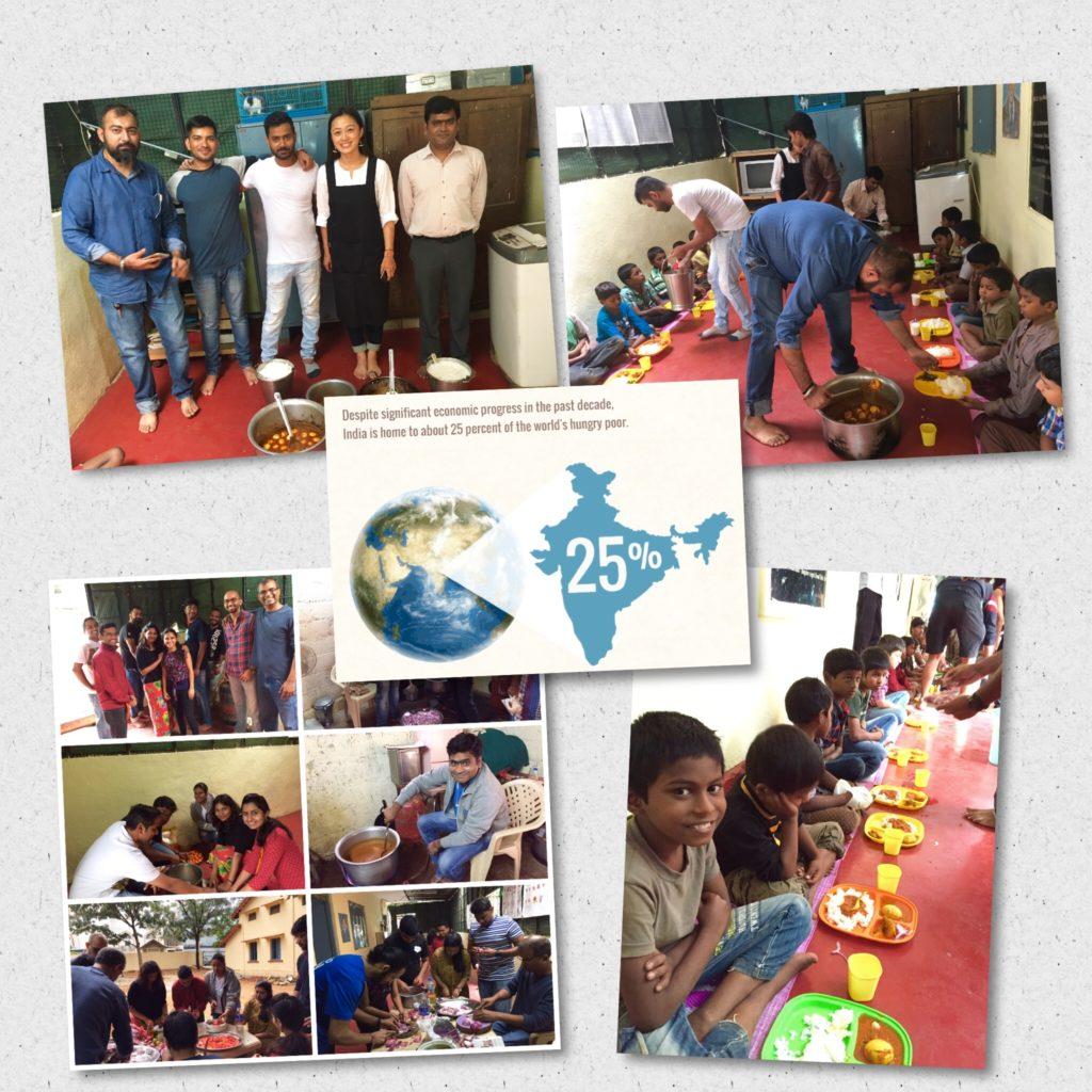 Feed the Needy - Food Program at Salesforce India
