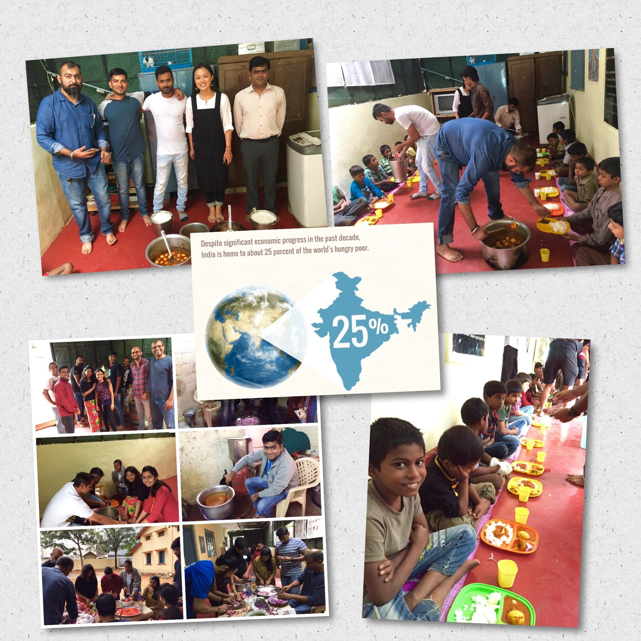 Feed the Needy - Food Program at Salesforce India