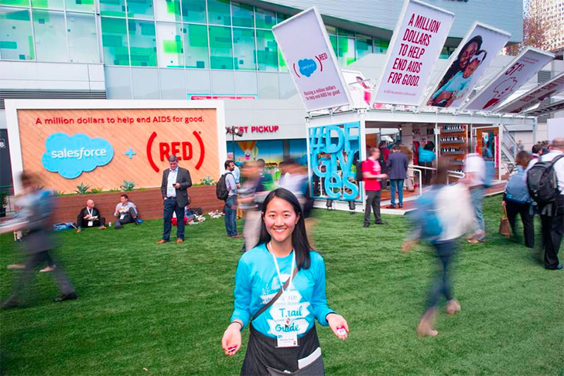 Dreamforce and Red