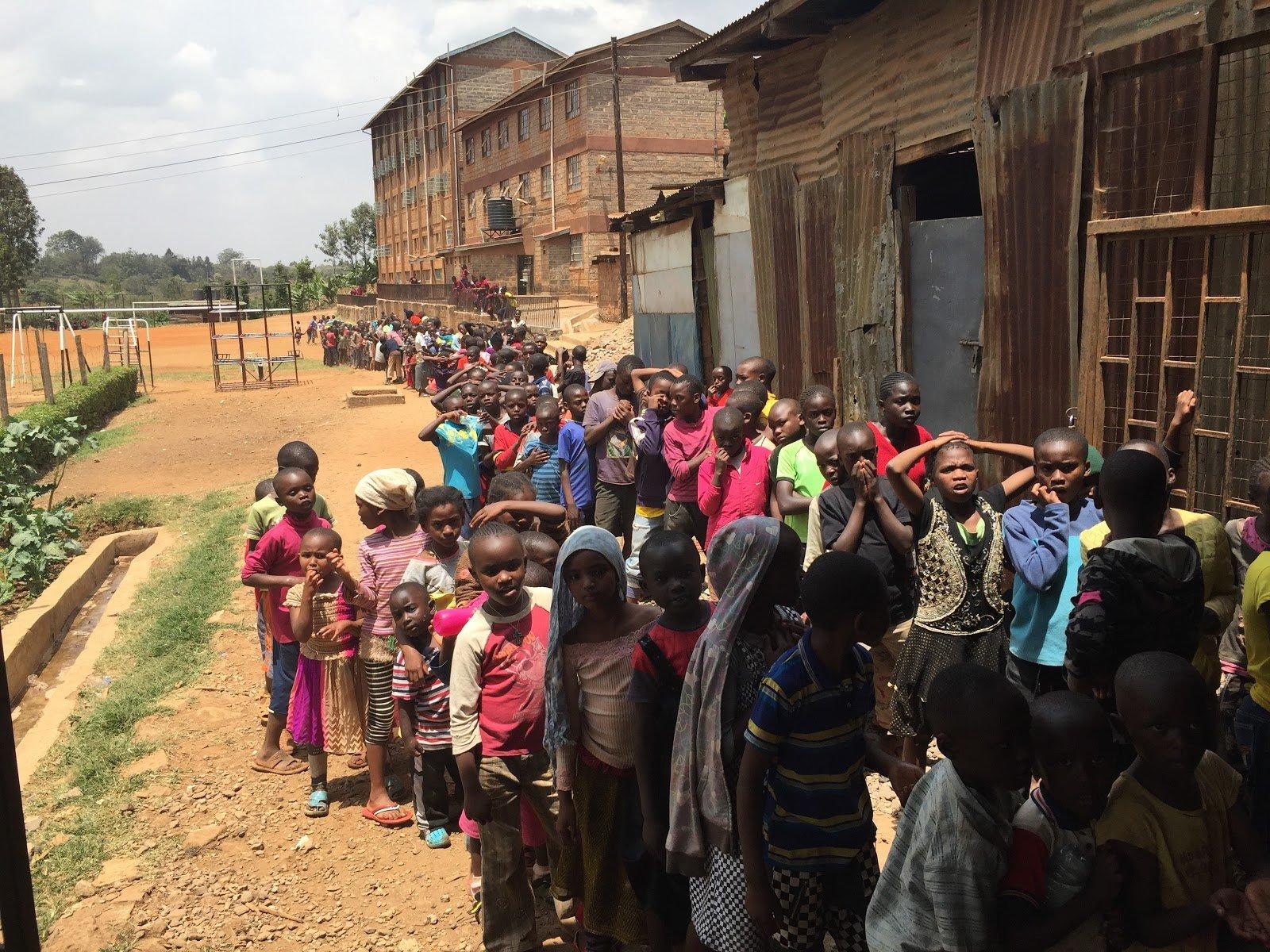 St.Martins - Kenya, Feeding Program