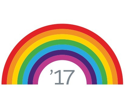 Salesforce Spring 2017 Rainbow Logo