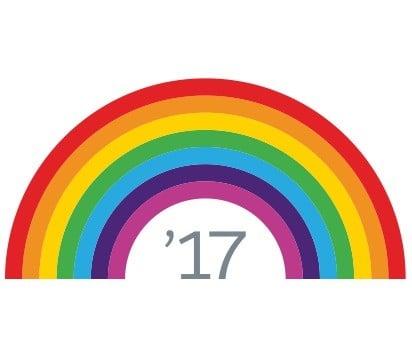 Salesforce Spring 2017 Rainbow Logo
