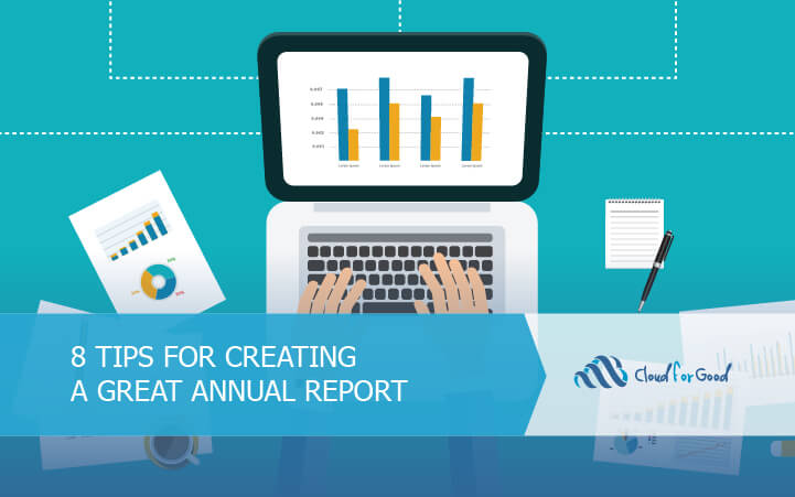 8 tips for creating a great annual report