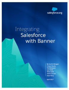 Integrating Salesforce with Banner