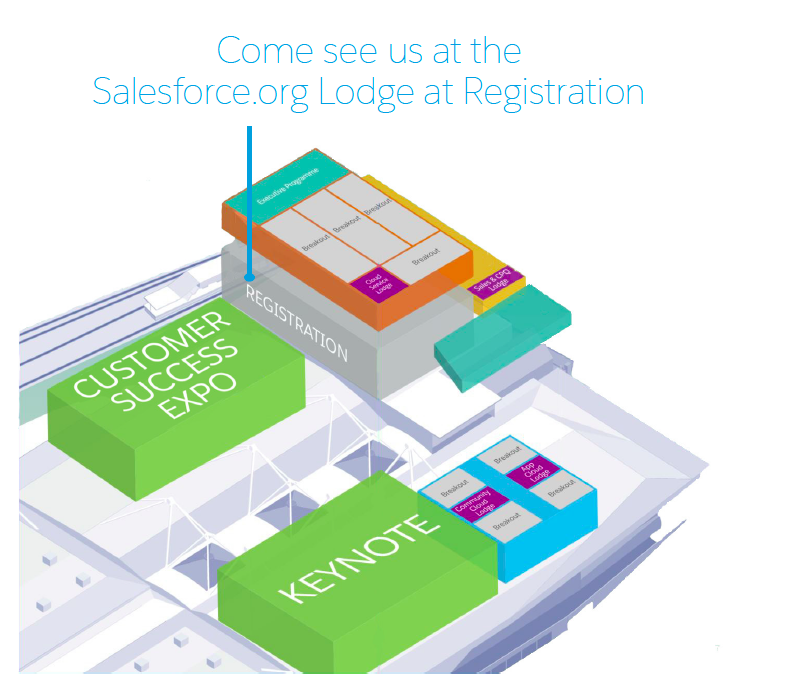 Salesforce World Tour London 2017 - Salesforce.org Zone