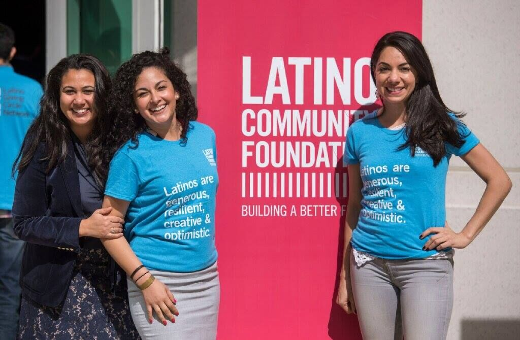 LCF Latino Giving Circle members