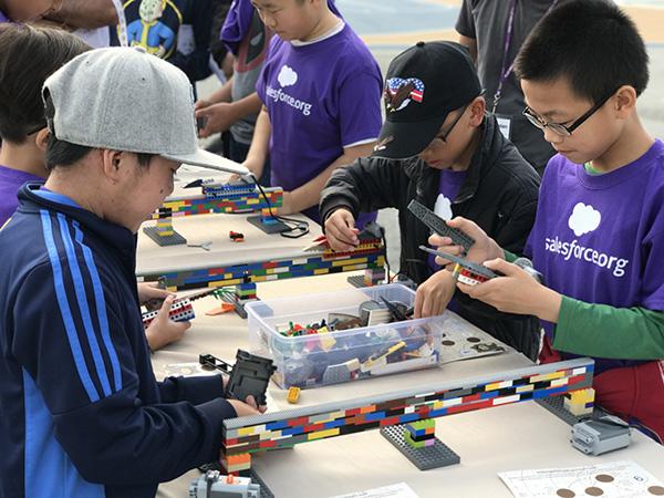 Visitacion Valley Middle School Students