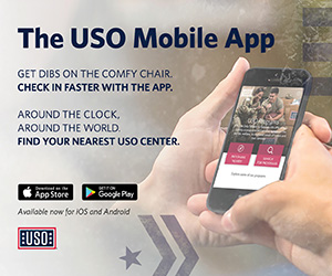 The USO Mobile app, built on Salesforce