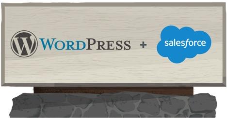 Integrating WordPress with Salesforce - Salesforce org