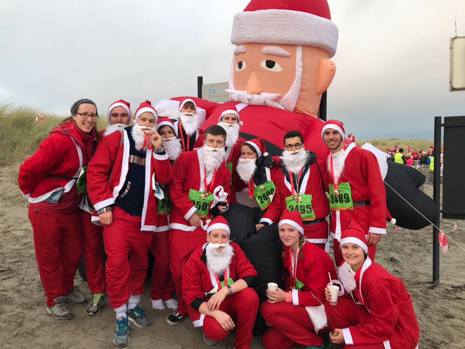 Dublin Santa Run for Astriid