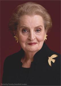 Dr. Madeleine K Albright