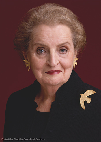 Dr. Madeleine K. Albright will be speaking at the Salesforce.org Higher Ed Summit in 2018.