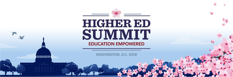 Check out the amazing speakers at Higher Ed Summit 2018. Attend and learn about Salesforce higher education, HEDA, meet your peers and more!