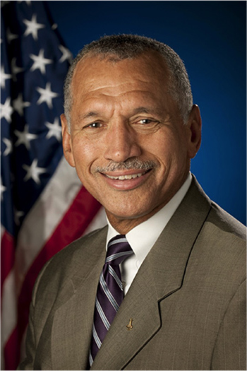 The Honorable Charles F. Bolden Jr. will be speaking at the Salesforce.org Higher Ed Summit in 2018.