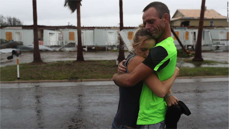 Salesforce pro bono volunteers helped build a solution on Heroku to support aid to hurricane victims.