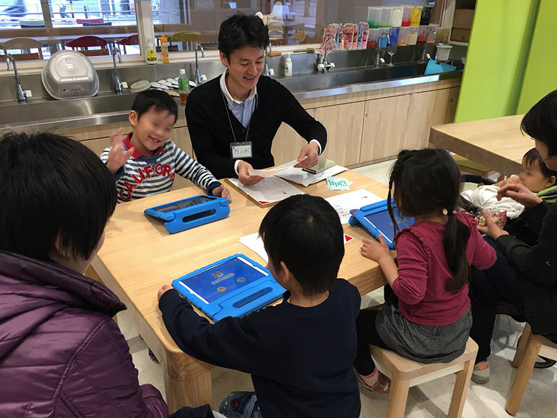 Salesforce employees support STEM education through volunteering to share about their careers in visits to local schools.