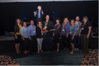 Salesforce for Higher Education - Higher Ed Summit awards group photo