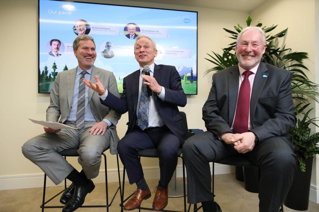 Ireland's Minister for Education & Skills, Richard Bruton T.D.