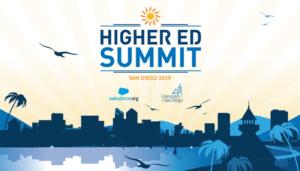 Higher Ed Summit 2019 San Diego