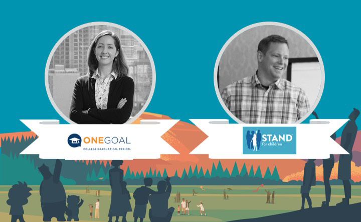 Learn how OneGoal and Stand for Children in lare building community engagement with nonprofit technology
