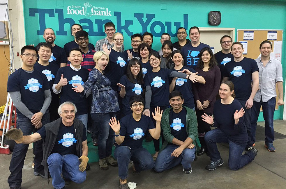 Salesforce Employee Volunteers