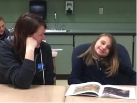 Salesforce employee participates in IPS School 51 Reading Buddies program